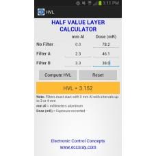 ECC 890 X-ray Dose/Rate/Exposure Time Meter