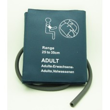Single Hose Reusable NIBP Cuff, Adult